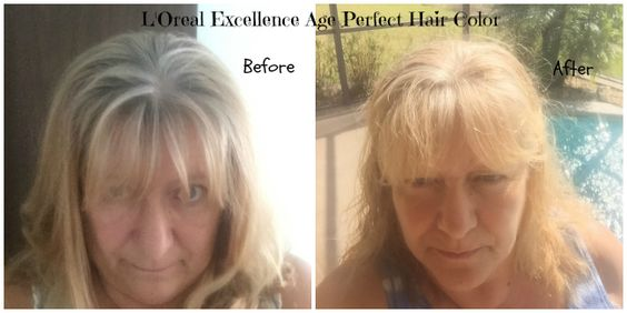 Cover Your Gray with L'Oreal Excellence ~ Age Perfect Hair Color for Mature Hair! #AgePerfectColor #sponsored