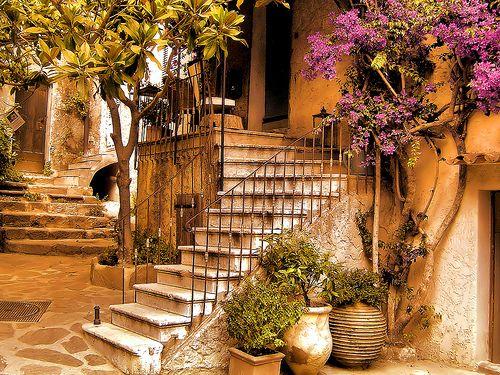 Ancient Entryway, Côte d'Azur, France