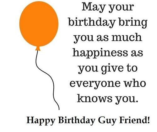 Image Result For Happy Birthday Guy Birthday Quotes For Best