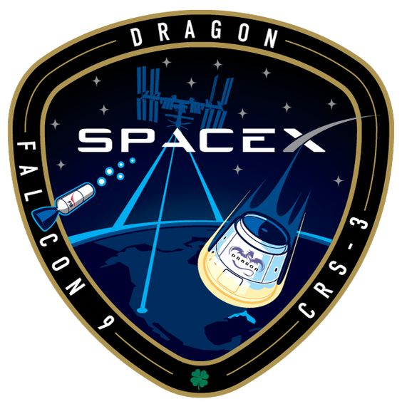 SpaceX Mission Patch. Source: http://www.spacex.com/sites/spacex/files/crs-3_patch.png