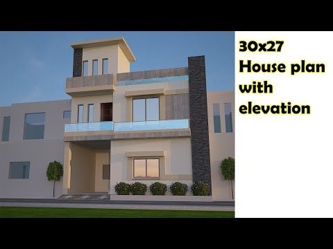 30x27 House Plan With Front Elevation House Plan By Asif Youtube House Plans House House Styles