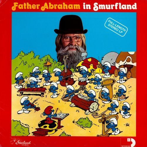 Las canciones de los pitufos y el padre Abraham