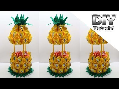Ide Kreatif Vas Bunga Dari Stik Es Krim Bentuk Hati