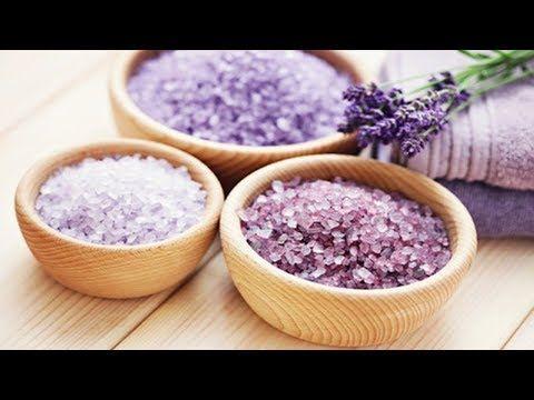 Sal Grosso Colorido E Perfumado De Todas As Cores Youtube Com Imagens Sais De Banho Sais De Banho Caseiros Sal De Banho