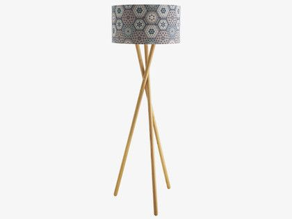 Lansbury Base Ash Wooden Tripod Floor Lamp Floor Lamp Base Wooden Floor Lamps Wooden Tripod Floor Lamp