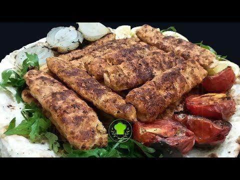 مطبخ البيت العراقي Kitchen Iraqi House كباب دجاج مشوي بالفرن او الفحم Food Sausage Pork