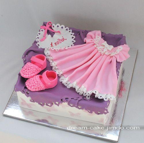 торт наряд для девочки