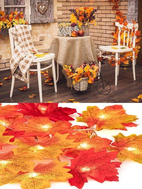 PERFEKT FÜR ALLE ANLÄSSE - Diese künstlichen Ahornblätter können als Dekoration für Thanksgiving, Halloween, Weihnachten, Hochzeit, Festival, Haus, Bars, Party, Bankett, Geschäfte und alle Arten von DIY für Kinder oder dich selbst oder Nähen Sie Ihre Kleidung serviert werden. ❤LIFE LIKE LOOK - 400 Stück Ahornblätter sind in gelb, orange und weinrote Farbe sortiert, ähnliche Farben wie Ahornblätter im tieferen Herbst. Konvergieren Sie leicht mit der natürlichen Umgebung... *Pin enthält Werbelink