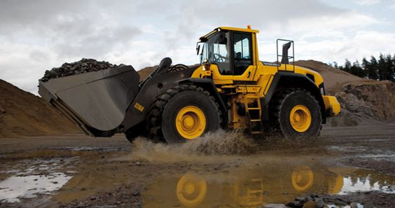 Volvo Wheel Loaders. Get the job done.