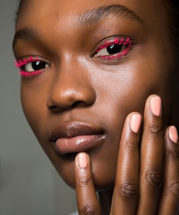 Colored Mascara: Hot, Hot Pink
