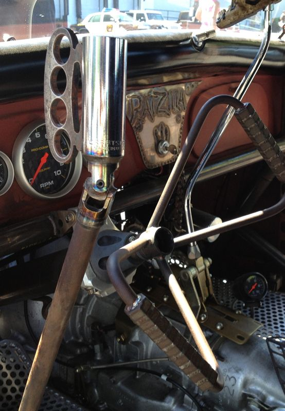 Brass Knuckle Shifter Is Cool But Check Out The Wheel