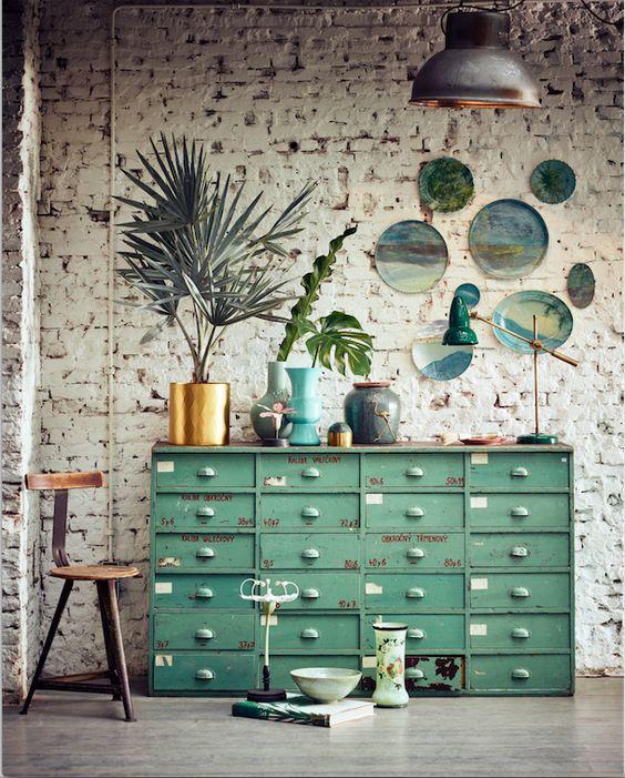 Botanic green love made for Happihome styling: Cleo Scheulderman photo: Jeroen van der Spek: