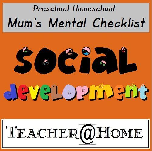 preschool social development homeschool assessment and home on 666