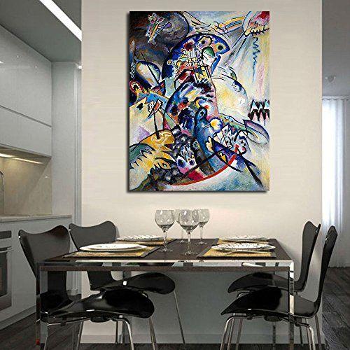 TTKX@ Wassily Kandinsky Wandbilder Für Wohnzimmer Kunst ...