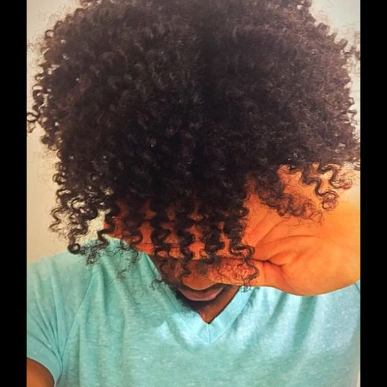 Defined twist out I took the twists down at work and by the morning Time the hair fell and looked like 2nd day hair very pleased with the results #oliveoil #twistout #natural #naturalhair #naturalhairmen #curlyguys
