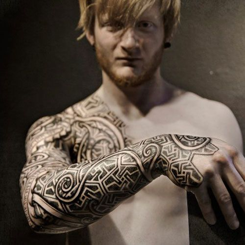 101 Best Tribal Tattoos For Men Cool Designs Ideas 2020 Guide Cool Tribal Tattoos Tribal Tattoos For Men Viking Tattoos