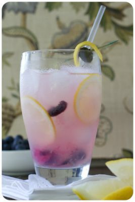 Lemon blueberry cooler - Top non-alcoholic cocktail ideas - Netmums