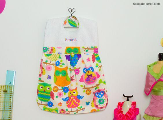 Estos baberos-vestidito son ¡la bomba! #babero #handmade #personalizado #nena #original #divertido
