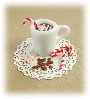 The Mini Food Blog: dollhouse miniature mini food polymer clay fimo tutorial
