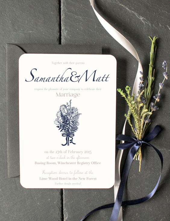 23 Wedding-Invitation-invite-floral-flower-bouquet-navy-custom-stationery-design-floral-holly-rees-london.jpg