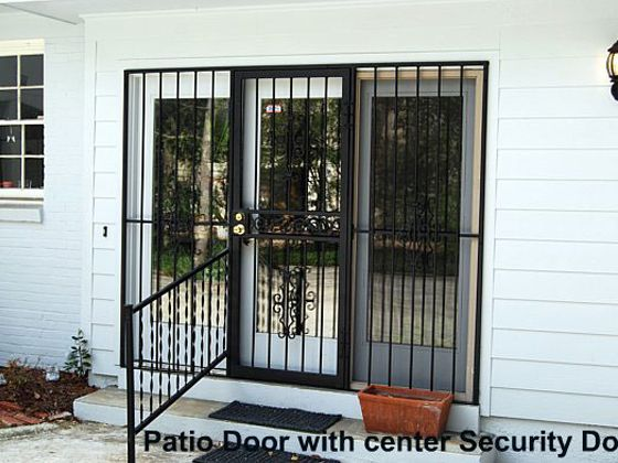 Glassessential patio door security gate http