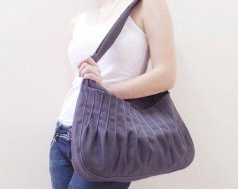 Casual grey purse.