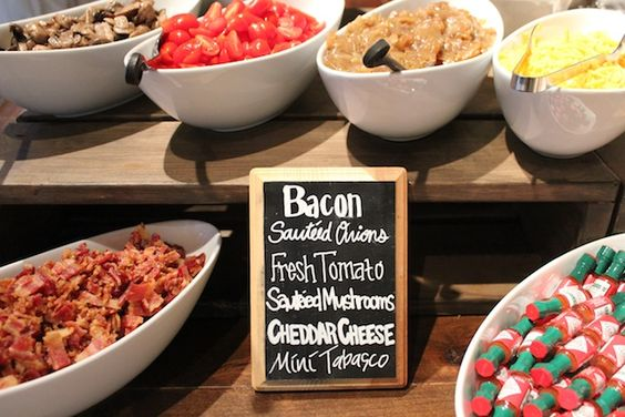 shrimp grits chalkboard signs and bacon on pinterest