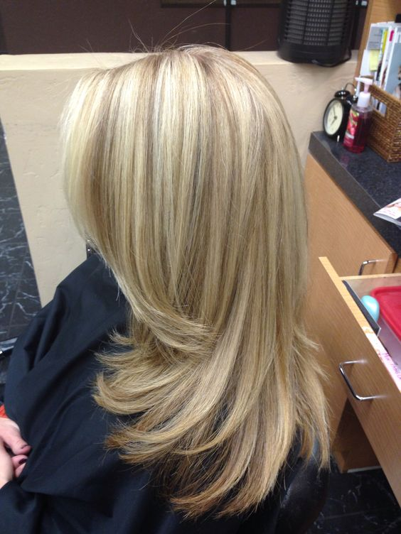 Long Blonde Hair Long Layers Low Lights Amp Highlights By