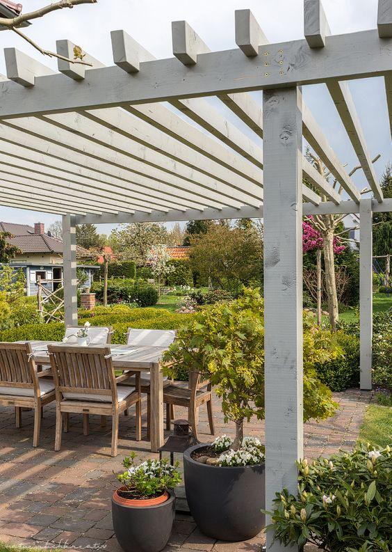 terrassen berdachung pergola garden. Black Bedroom Furniture Sets. Home Design Ideas