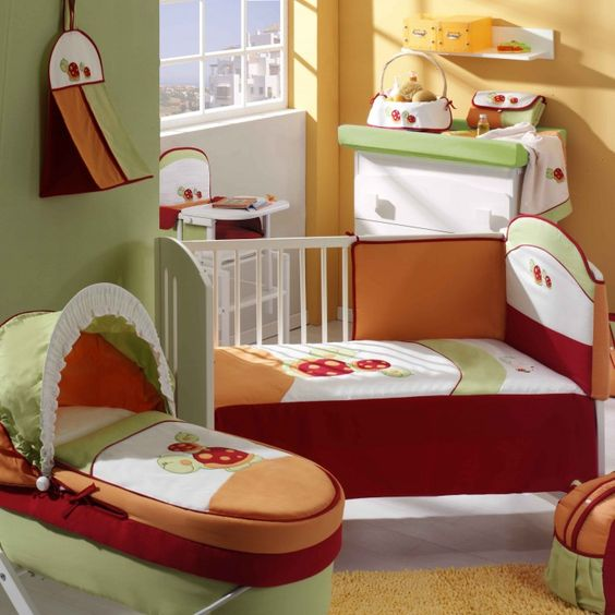 Cuarto de bebe decorado para su llegada cosas para - Cuartos para bebes ...