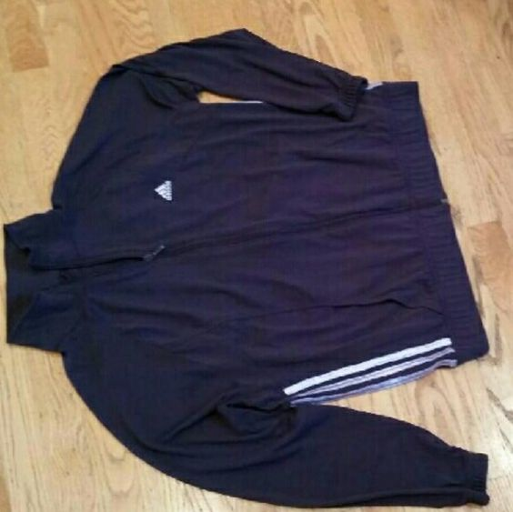 Adidas womens zipup Addidas zip up soft material. SizeXL  100%polyester. Adidas Tops Sweatshirts & Hoodies