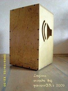 Cajon made by zawoART 2009
