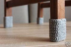 Stuhlbeinsocken Stuhlbeinsocke Stuhl-Socken Möbelgleiter Fußbodenschoner 4 St.