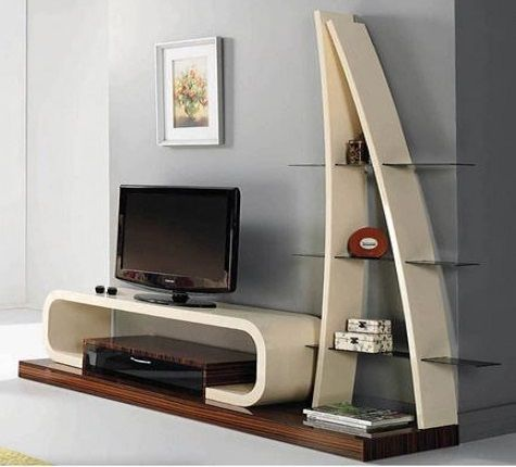 Modern Tv Cabinets Wooden Tv Wall Units Design Ideas 2019
