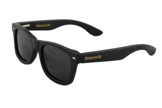 Bewoodz ® Holz Sonnenbrille 'Amsterdam' aus Bambus