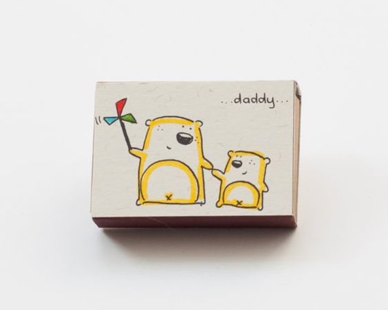 Father's Day Card/ Father's Day Card / Cute Daddy I por shop3xu