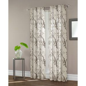 Maytex Daphnia Sheer Window Curtain Panel