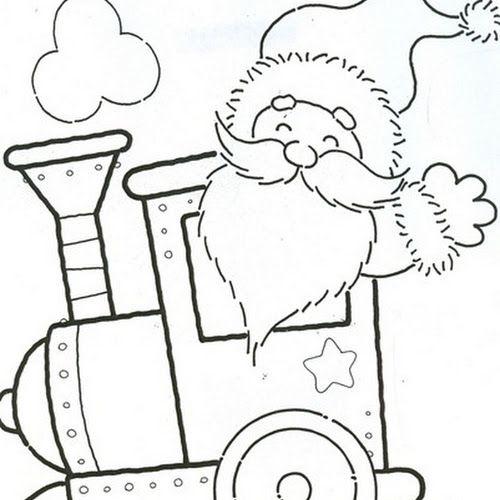 50 Desenhos E Riscos De Natal Lindos Para Colorir Pintar