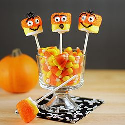 Candy Corn Creeper Pops
