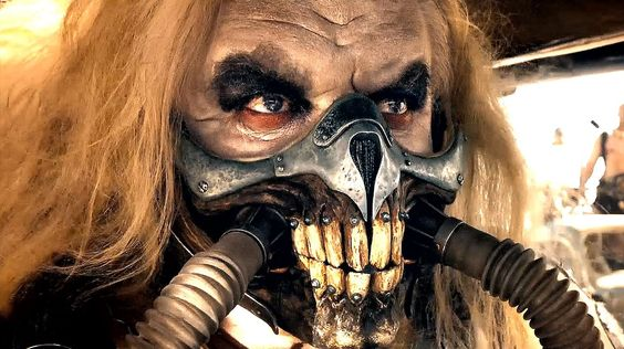 Immortan Joe (Hugh Keys-Byrne who by the way played Toecutter in the original Mad Max)