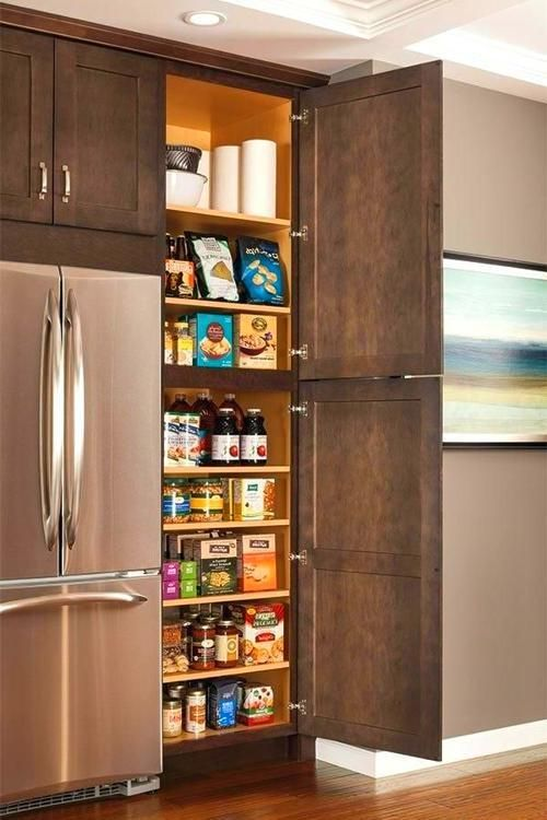 Pin By Vee Name On Kitchen In 2020 Interior Design Kitchen Small Pantry Cabinet Kitchen Organization Pantry
