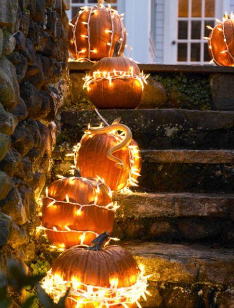 No-Carve Pumpkin Ideas to Step Up Your Halloween Game via @PureWow