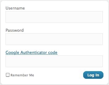 two step authentication wordpress
