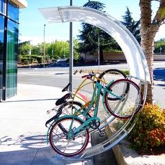 bicycle racks and bike parking and storage systems for indoor and outdoor spaces