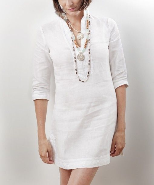White Tunic Dress - RP Dress