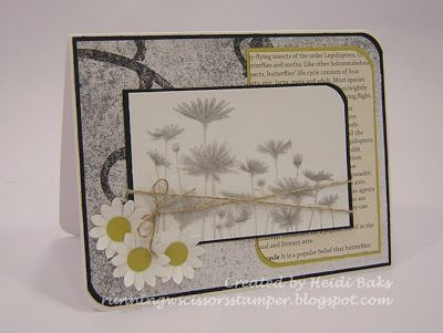 RunningwScissorsStamper: FM111 Pencil Me In **Try stamping on the backside of velum CS to get this look