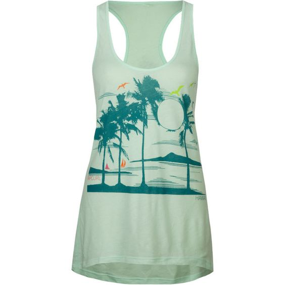RIP CURL Staycation Womens Tank ($23) ❤ liked on Polyvore