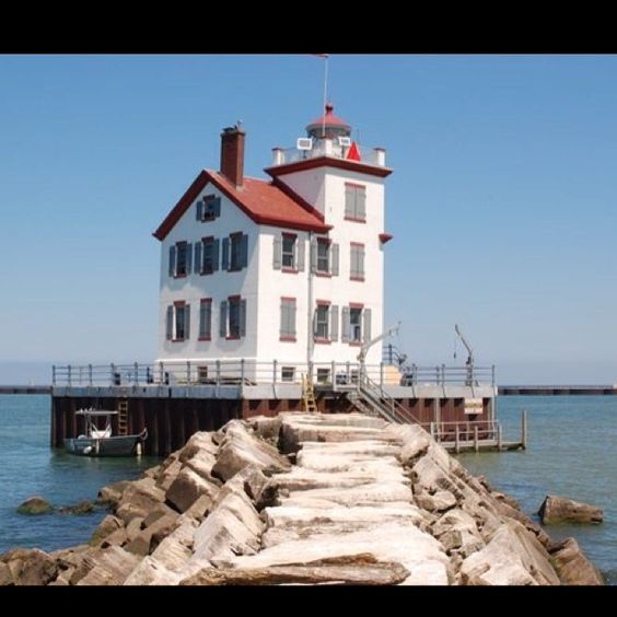 Lighthouses And Ohio On Pinterest