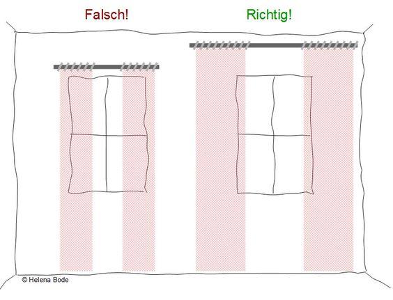 Da ich immer mal wieder Fragen über die optimale Länge und Breite sowie Anbringung der Gardinen und Vorhänge gestellt bekomme, habe ich auf meinem Blog einige Informationen für euch zusammen gestellt.