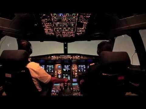 Cockpit View Of Landing Plane Youtube Cockpit Views Aeroplane